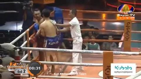 វៀត ប៊ុនឌឿន (កម្ពុជា) ជាមួយ (ថៃ) ណាត់ក, Viet Bundoeun Vs Thai