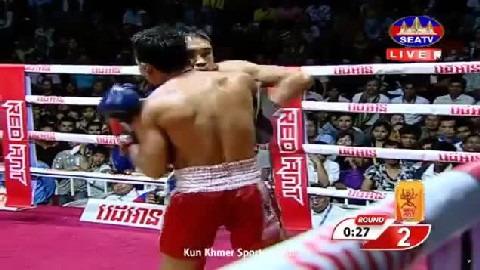 ម៉ន សាម៉េត (កម្ពុជា) ជាមួយ (ថៃ) ប៊ូវី, Morn Sameth Vs Thai