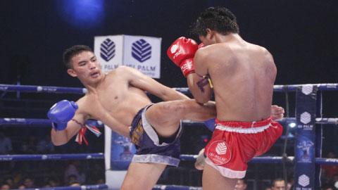 Kun Khmer, Long Sophy Vs Thai, Hataphon, K.O, SEATV boxing, 26 Feb 2017
