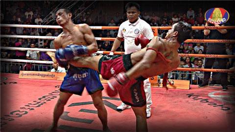 Kun Khmer, Toch Tou Vs Thy Tonghy, 14 Oct 2017 Fights Zone