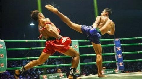 Kun Khmer, Roeung Saroth Vs Thai, Jambon, 15 Oct 2017 - Fights Zone